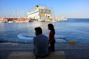 1 KOS ISLAND, REFUGEES, THE HARBOR (4)