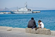 1 KOS ISLAND, REFUGEES, THE HARBOR (78)