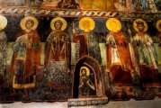 9c BULGARIA, NESSEBAR (ANCIENT MESSIMBRIA) CHURCH OF ST.STEFAN 10th c. AD - Paintings 16th c (19)