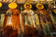9c BULGARIA, NESSEBAR (ANCIENT MESSIMBRIA) CHURCH OF ST.STEFAN 10th c. AD - Paintings 16th c (20)