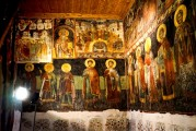 9c BULGARIA, NESSEBAR (ANCIENT MESSIMBRIA) CHURCH OF ST.STEFAN 10th c. AD - Paintings 16th c (22)