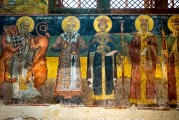 9c BULGARIA, NESSEBAR (ANCIENT MESSIMBRIA) CHURCH OF ST.STEFAN 10th c. AD - Paintings 16th c (28)