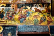 9c BULGARIA, NESSEBAR (ANCIENT MESSIMBRIA) CHURCH OF ST.STEFAN 10th c. AD - Paintings 16th c (29)