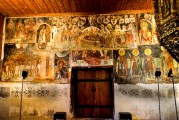 9c BULGARIA, NESSEBAR (ANCIENT MESSIMBRIA) CHURCH OF ST.STEFAN 10th c. AD - Paintings 16th c (37)