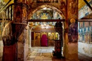 9c BULGARIA, NESSEBAR (ANCIENT MESSIMBRIA) CHURCH OF ST.STEFAN 10th c. AD - Paintings 16th c (42)