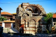 9f BULGARIA, NESSEBAR (ANCIENT MESSIMBRIA) CHURCH OF MICHAEL AND GABRIEL (4)