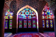 SHIRAZ, The pink mosque-Nasir Al Mulk (3)